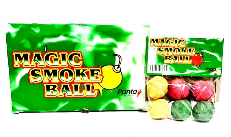 Magic smoke balls 6 ks